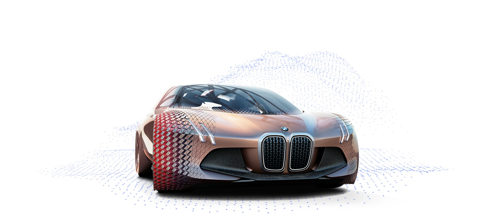 BMW Vision Next 100 car outer