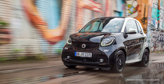 smart eq coupe fortwo