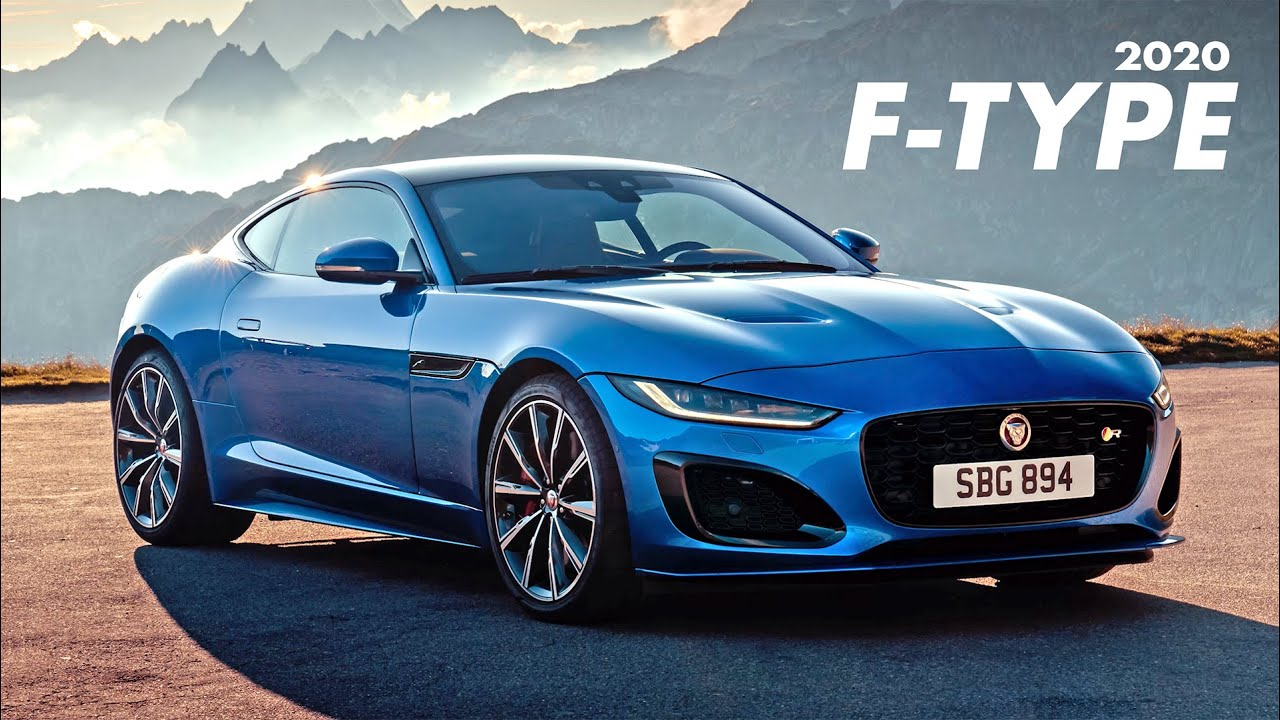 2020 jaguar f-type: the refreshed modernized addition to